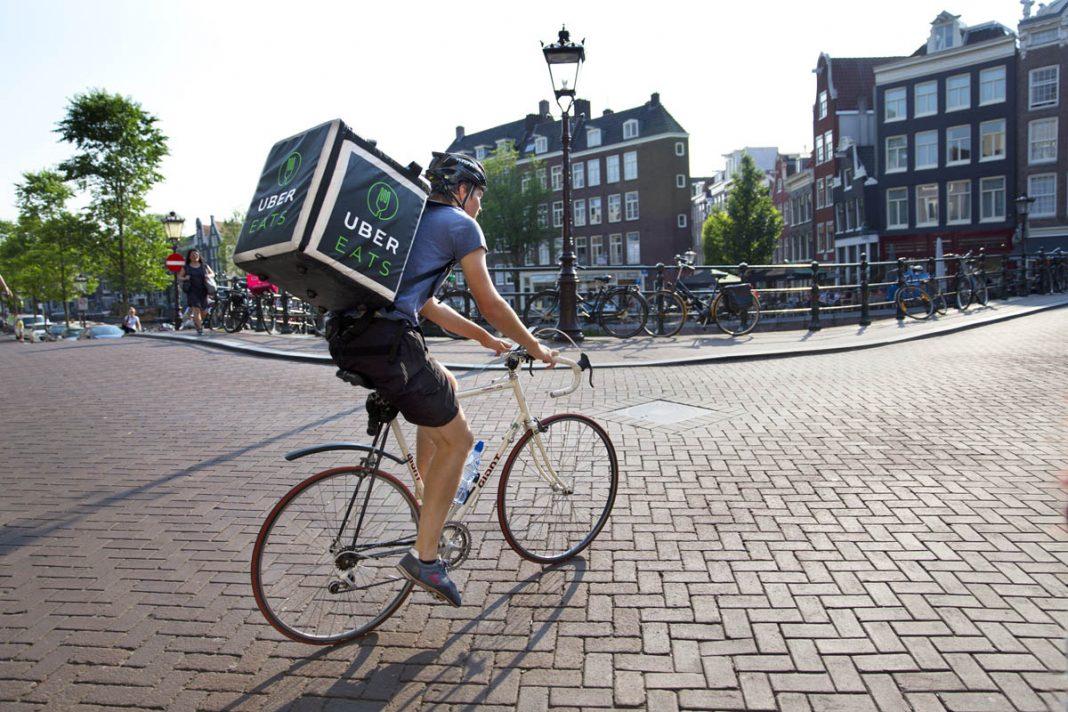 Uber fietser ©Erik Veld
