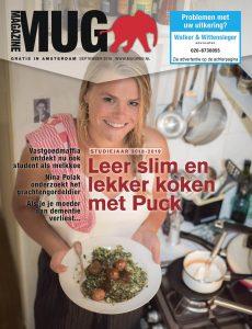 Cover van septembernummer 2018 MUG Magazine | @Sandra Hoogeboom