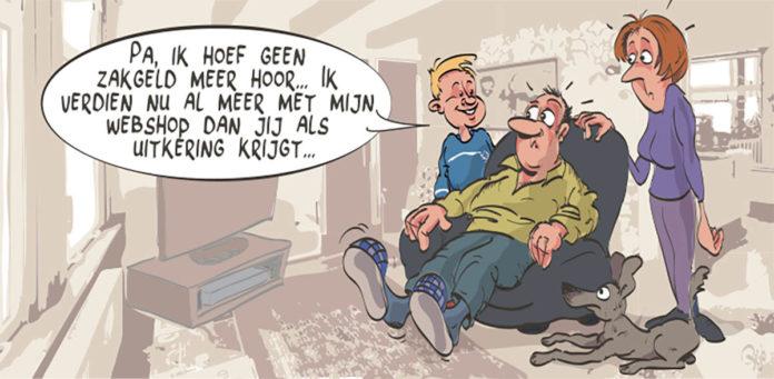 De maandelijkse cartoon van Pejo