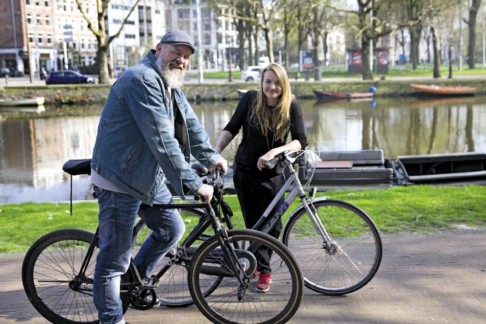 Martin Boersma en Claire den Oudsten | © Erik Veld