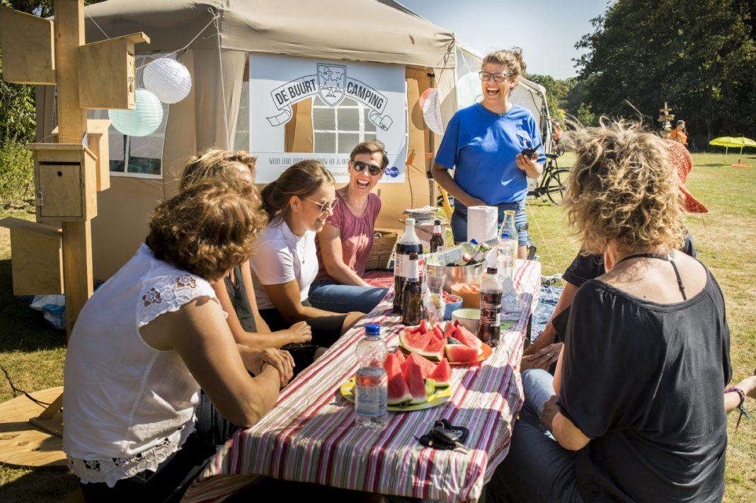 Vakantiegevoel in je eigen buurt op de buurtcamping (Foto: Buurtcamping)