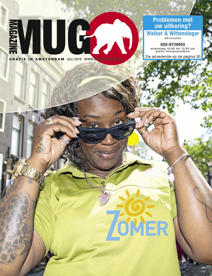 Cover MUG Magazine juli 2019 | © George Maas/Fotonova