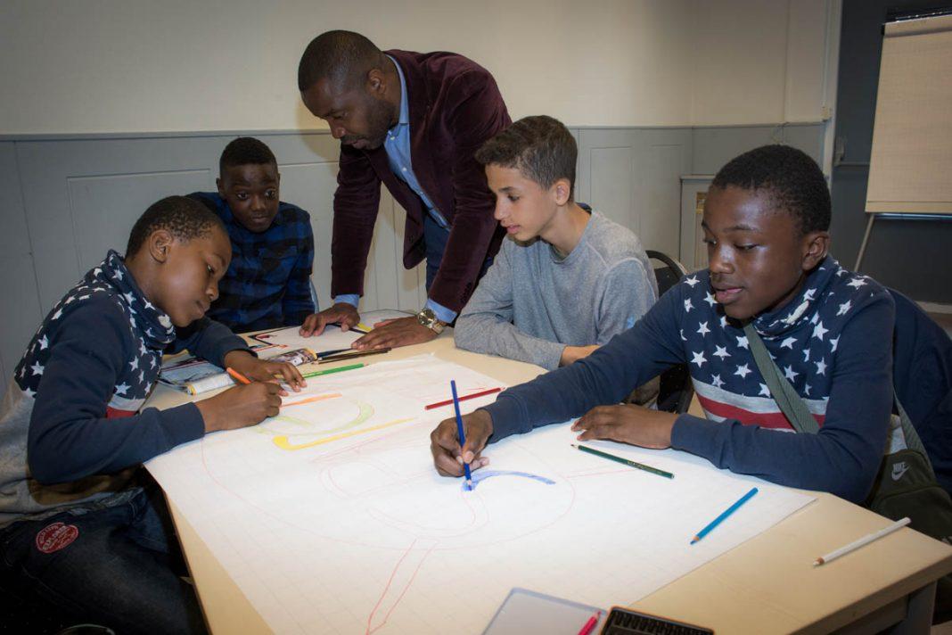 Ook jongens vinden Mon€y School best cool | © Sandra Hoogeboom