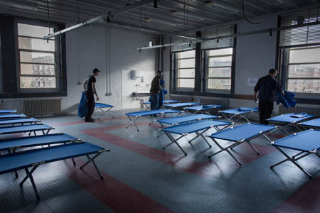 Een opvang voor daklozen
