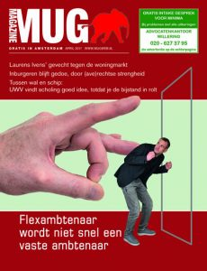 Cover van aprilnummer 2017 MUG Magazine | @Fred van der Zee