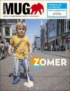 Cover van julinummer 2017 MUG Magazine   @Sandra Hoogeboom