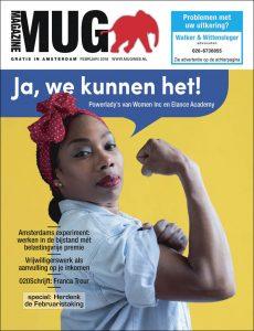 Cover van februarinummer 2018 MUG Magazine   @Sandra Hoogeboom