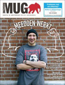 Cover van aprilnummer 2018 MUG Magazine   @Erik Veld