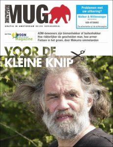 Cover van meinummer 2018 MUG Magazine   @George Maas