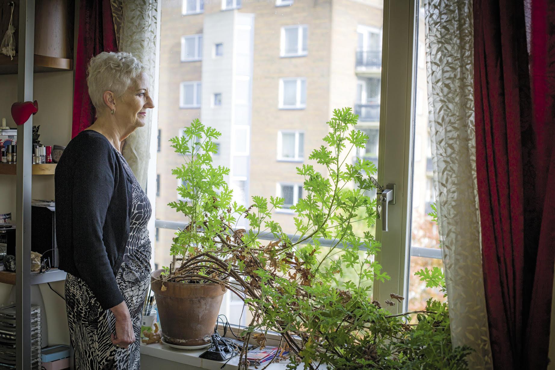 Raad van haar maatschappelijk werkster hielp Tineke enorm | © Sandra Hoogeboom