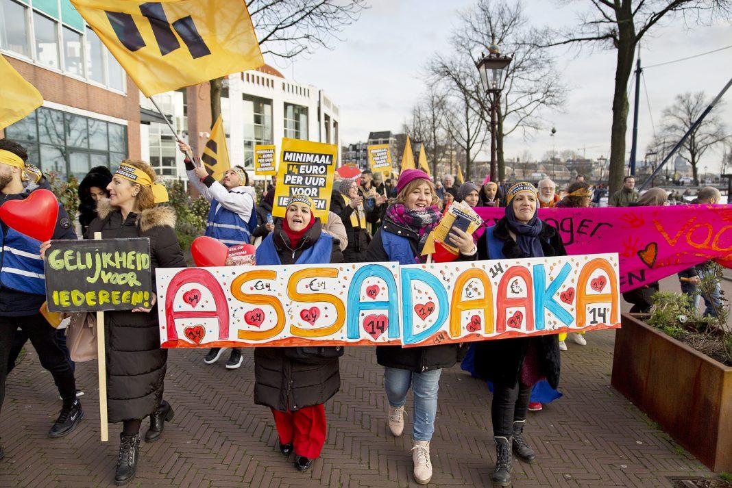 'Alle Nederlanders hebben recht op een eerlijk inkomen' | © Erik Veld